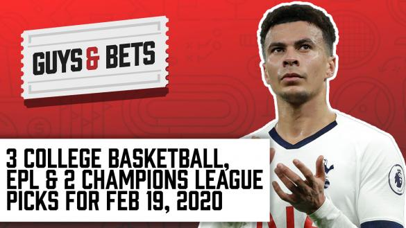Odds Shark Guys & Bets Joe Osborne Andrew Avery Iain Macmillan College Basketball Champions League Premier League Betting Odds Tips Picks Predictions
