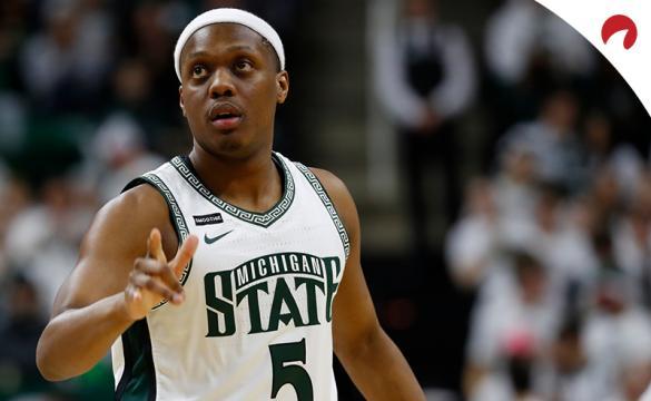 Cassius Winston NCAAB Basketball Betting Preview Michigan State Spartans vs Nebraska Cornhuskers