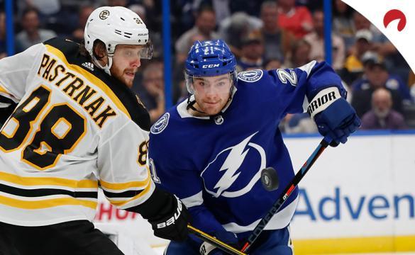 David Pastrnak Brayden Point NHL Hockey Betting Preview Boston Bruins vs Tampa Bay Lightning