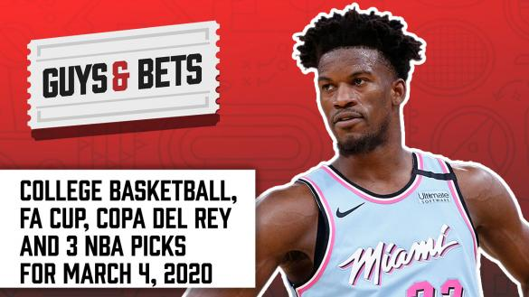 Odds Shark Guys & Bets Joe Osborne Andrew Avery Iain MacMillan NBA College Basketball Betting Odds Tips Picks Lines Spreads Wagers Jimmy Butler