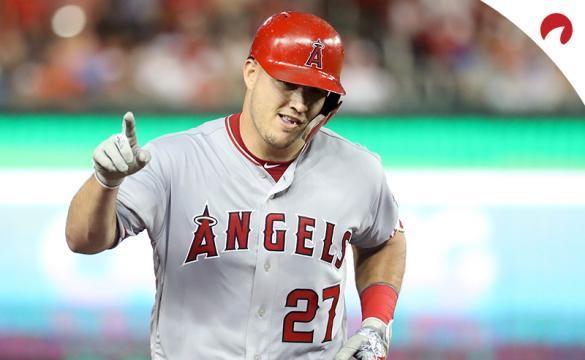 MLB HR Leaders 2020 Season Mike Trout