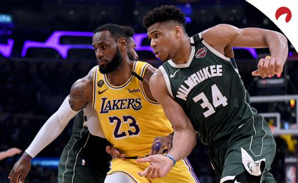 Giannis Antetokounmpo y LeBron James son los favoritos al MVP
