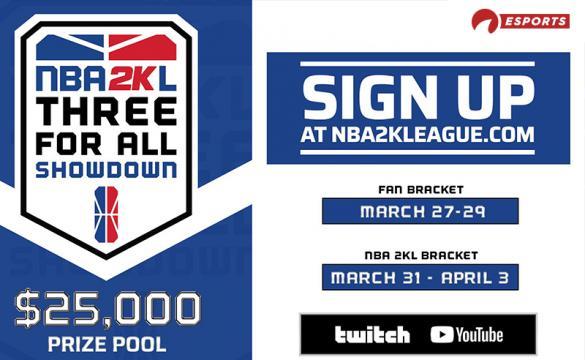 NBA2KL 3v3 Tourney - March 24 2020