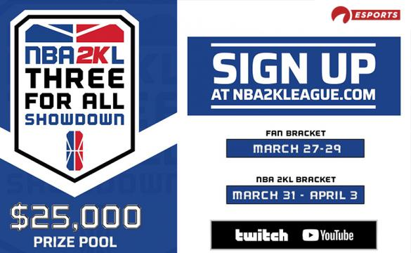 NBA2KL 3v3 Tourney - March 24 2020