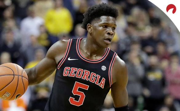 NBA Draft Odds are out and Georgia Bulldogs guard Anthony Edwards is favored to be selected first overall.