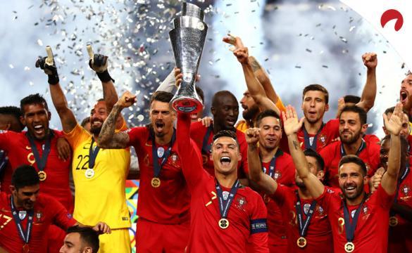 Favoritos por las casas de apuestas para ganar la UEFA Nations League