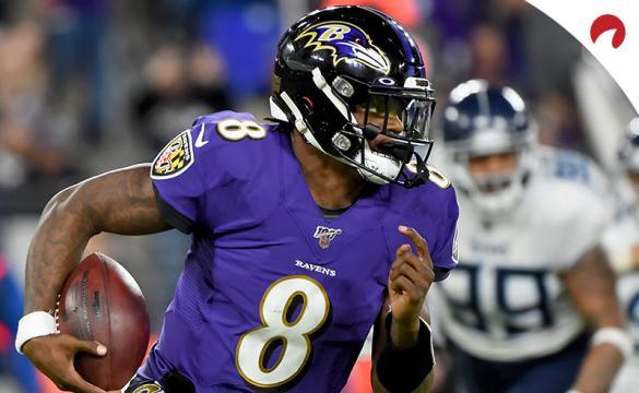 NFL Season Betting Props - Lamar Jackson