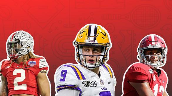 2020 NFL Draft Guys & Bets Chase Young Joe Burrow Tua Tagovailoa Joe Osborne Andrew Avery Iain MacMillan