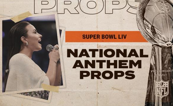 National Anthem Props image with Demi Lovato