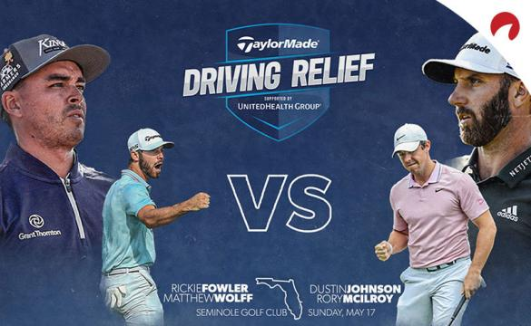 Charity Skins Game McIlroy Johnson Fowler Wolff Odds