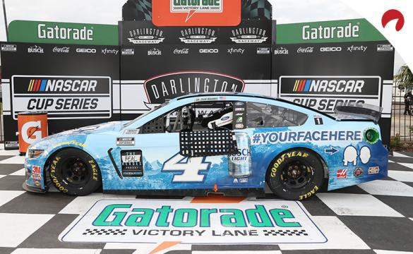 Kevin Harvick is the favorite in the Darlington Raceway odds