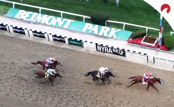 Belmont Stakes 2019 race finish. Normally the last leg in the Triple Crown, the race will be the first in 2020.