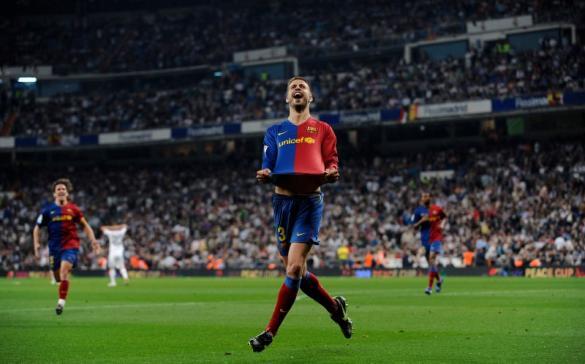 Gerard Pique do Barcelona