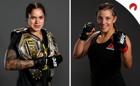 Amanda Nunes and Felicia Spencer headline UFC 250 and are posing in photoshoots