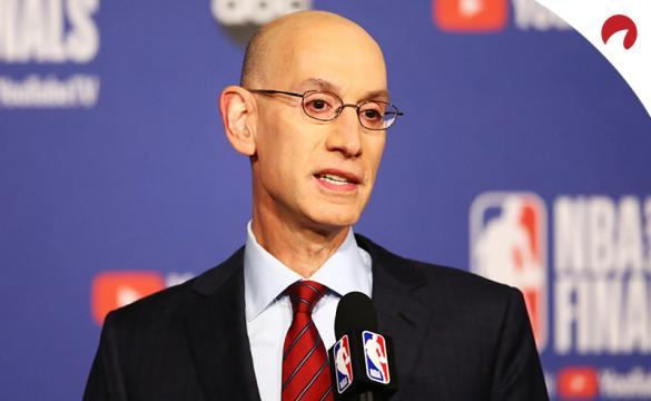 Adam Silver NBA Commissioner Return of NBA Season June 3 2020