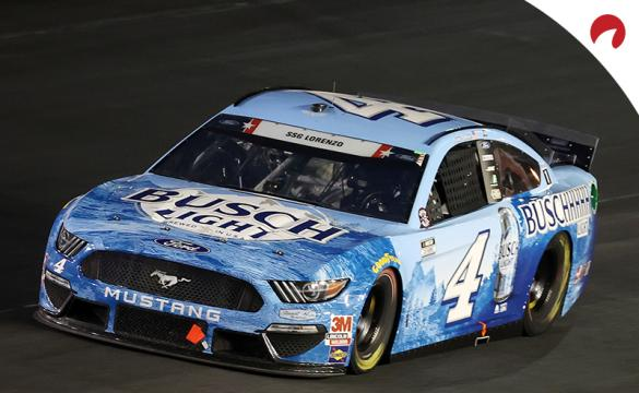 Kevin Harvick, who is favored to win at Atlanta Motor Speedway, racing on a track