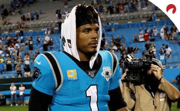 Cam Newton New England Patriots quarterback Futures Odds June 29, 2020