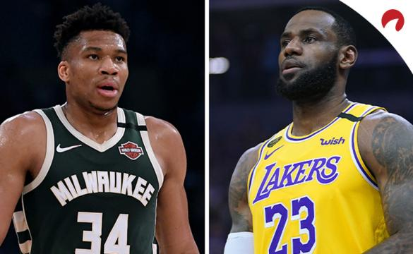 NBA MVP BETTING ODDS July 3, 2020 LeBron James Giannis Antetokounmpo