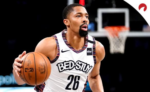 First Sports Team Bitcoin Spencer Dinwiddie Driving To The Hoop