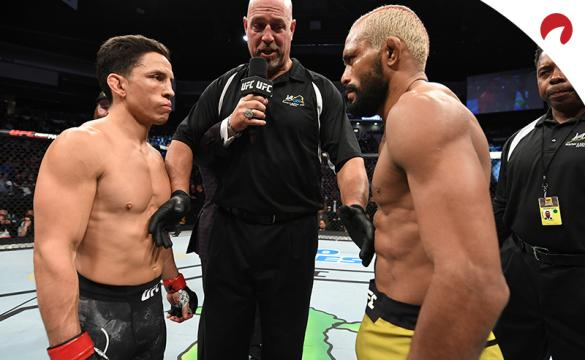 Joseph Benavidez and Deiveson Figueiredo face off ahead of their fight at UFC Fight Night 169