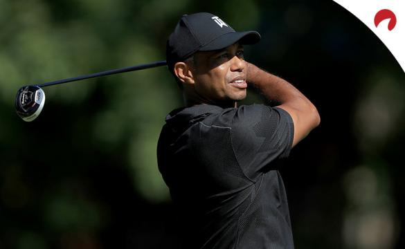 Tiger Woods PGA Futures Odds 2020 Tiger teeing off for a practice round at The Memorial