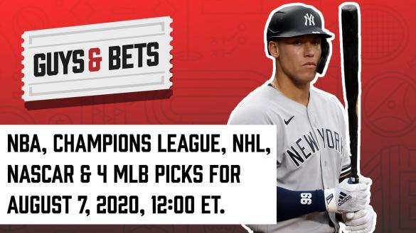 Odds Shark Guys & Bets Joe Osborne Harry Gagnon Iain MacMillan Andrew Avery Aaron Judge MLB NBA NHL NASCAR Champions League Betting Odds Tips Picks