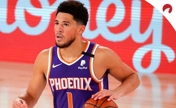 NBA Bubble Betting Trends - August 5 2020 Devin Booker setting up the offense