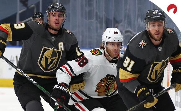 Reilly Smith Patrick Kane NHL playoffs Game 2 Betting Preview: Chicago Blackhawks vs Vegas Golden Knights