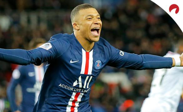 Ligue 1 Betting Odds October 16, 2020 Kylian Mbappe
