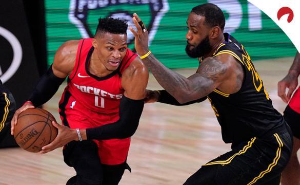 Apuestas Houston Rockets Vs Los Angeles Lakers de la NBA Playoffs 2020