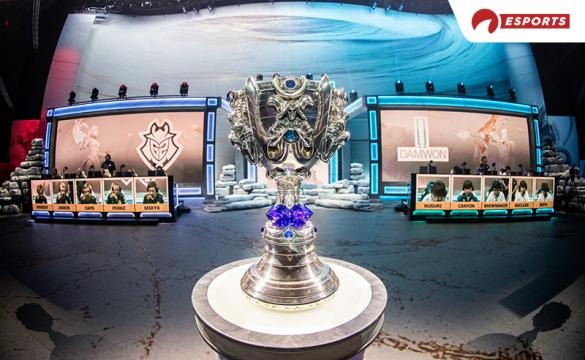 League of Legends World Championship 2020 G2 DAMWON Gaming