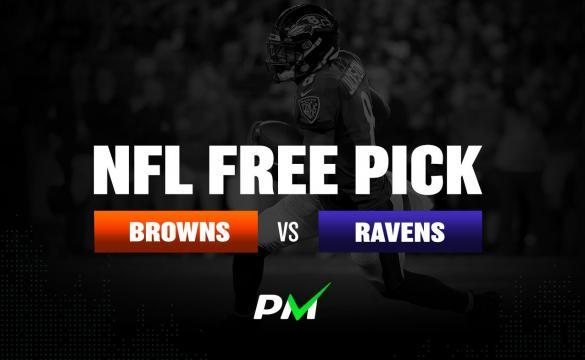 Prediction Machine NFL Free Pick: Cleveland Browns at Baltimore Ravens