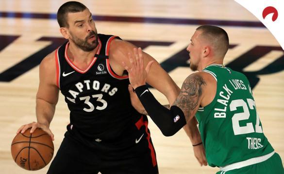 Apuestas Toronto Raptors Vs Boston Celtics de la NBA Playoffs 2020