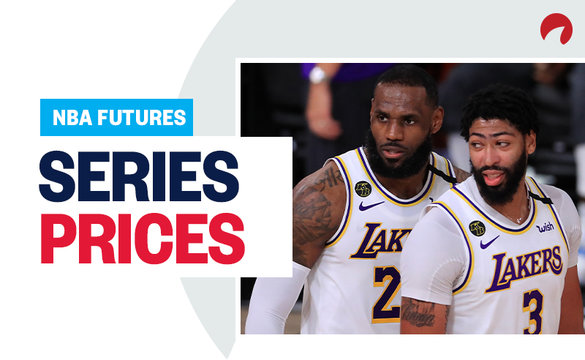 NBA Series Prices - September 14, 2020 LeBron James and Anthony Davis