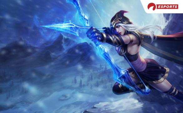 League of Legends Ashe Riot Games