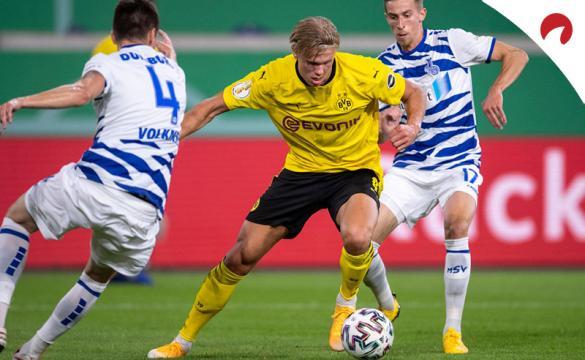 Apuestas para el Borussia Dortmund Vs Borussia Mönchengladbach de la Bundesliga 2020/21