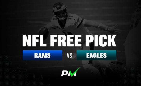 Prediction Machine NFL Free Pick: Los Angeles Rams at Philadelphia Eagles