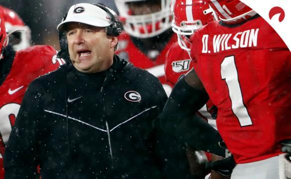 Georgia Bulldogs vs Arkansas Razorbacks Betting Odds