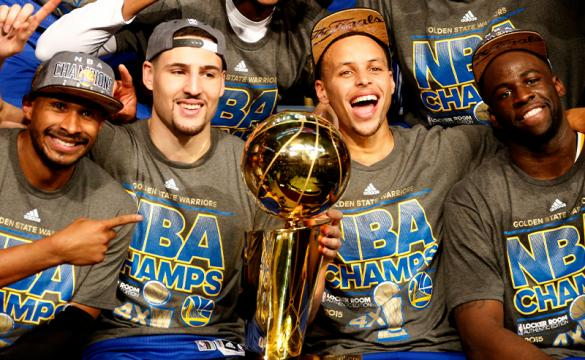 Biggest Underdogs To Win NBA Championship Golden State Warriors 2015