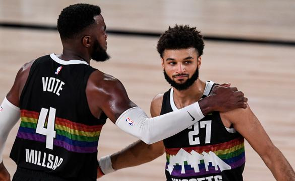 Lakers vs Nuggets Betting Odds Game 4 West Finals Paul Millsap Jamal Murray