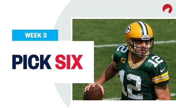 Pick Six Week 4 NFL Expert Picks Aaron Rodgers Green Bay PAckers