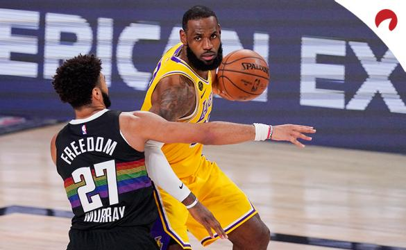 Apuestas Los Angeles Lakers Vs Denver Nuggets de la NBA 2020