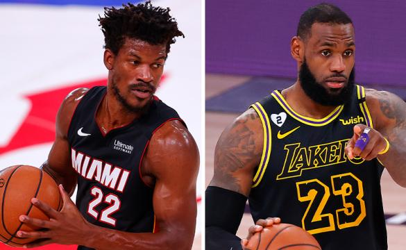 NBA Championship Odds September 28, 2020 LeBron James Jimmy Butler