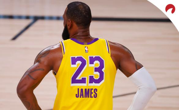 NBA Finals MVP Award Betting Odds September 28, 2020 LeBron James