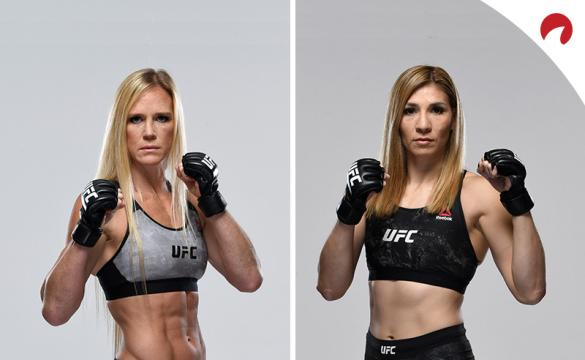 UFC Fight Night: Holly Holm vs Irene Aldana Betting Odds