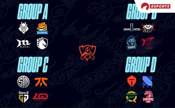 League of Legends Worlds 2020 Group Stages