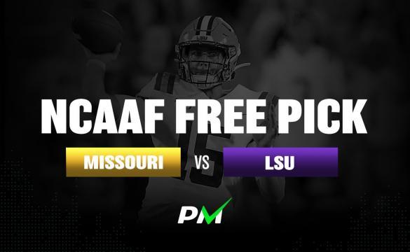 Prediction Machine NCAAF Free Pick: LSU Tigers vsMissouri Tigers