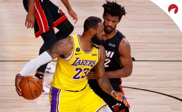 Apuestas Los Angeles Lakers Vs Miami Heat de la NBA 2020