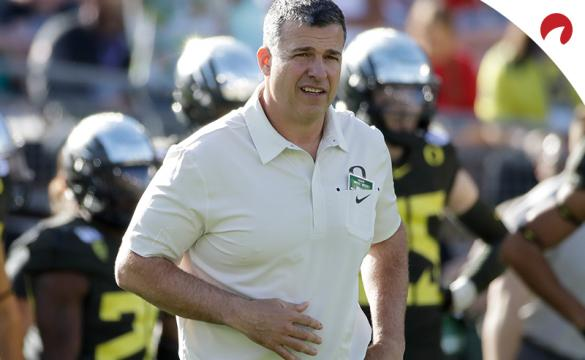 The Oregon Ducks are the frontrunners in the Pac-12 odds.