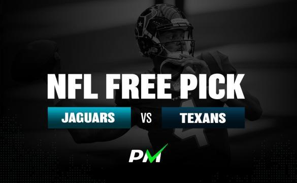 Prediction Machine NFL Free Pick: Jacksonville Jaguars at Houston Texans